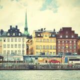 Vista de Estocolmo Fotografía de archivo libre de regalías