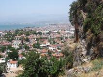 Vista de Fethiye imagens de stock royalty free