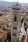 Vista de Firenze da abóbada Fotografia de Stock Royalty Free
