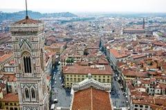 Vista de Firenze da abóbada Imagem de Stock Royalty Free