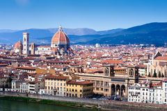 Vista de Florença Imagem de Stock Royalty Free