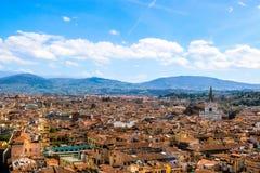 Vista de Florença, Italy fotos de stock