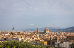 Vista de Florença Italy imagem de stock royalty free