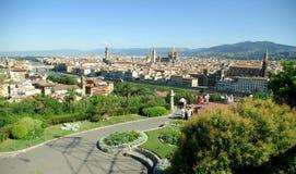 Vista de Florença, Italy foto de stock royalty free