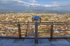 Vista de Florencia Imágenes de archivo libres de regalías