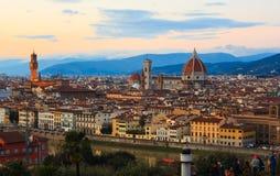 Vista de Florencia Imagen de archivo libre de regalías