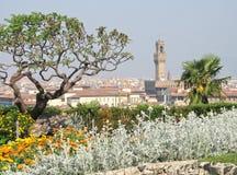 Vista de Florencia, Italia foto de archivo