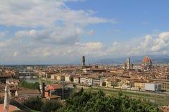 Vista de Florencia, Italia Imagen de archivo