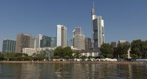 Vista de Frankfurt-am-Main, Alemania Imagen de archivo