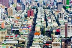 Vista de Gaoxiong céntrico Fotografía de archivo libre de regalías