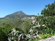 Vista de Gaucin Andalucia spain Foto de Stock Royalty Free