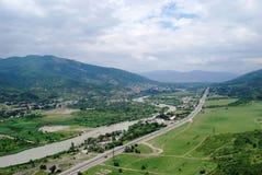 Vista de Georgia Foto de archivo libre de regalías