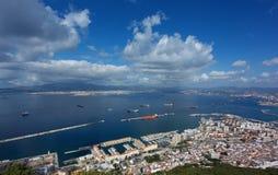 Vista de Gibraltar Foto de Stock