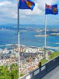 Vista de Gibraltar Fotos de Stock