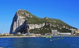 Vista de Gibraltar Fotos de archivo libres de regalías