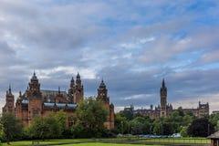 Vista de Glasgow central em Escócia Imagem de Stock Royalty Free