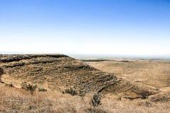 Vista de Gobekli Tepe Imagens de Stock