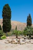 Vista de Gortyn. Crete, Grecia fotografía de archivo libre de regalías