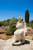 Vista de Gortyn. Crete, Greece Imagem de Stock
