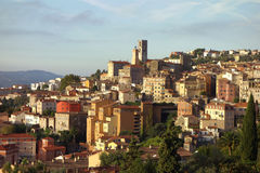 Vista de Grasse, Francia fotos de archivo libres de regalías