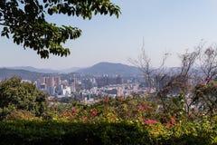 Vista de Guangzhou imagens de stock