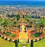 Vista de Haifa Fotos de archivo