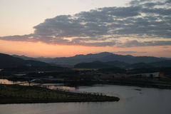 Vista de Hak Observatory Fotos de Stock Royalty Free