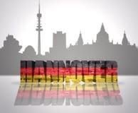 Vista de Hannover ilustração royalty free