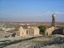 Vista de Harran moderno, Turquía foto de archivo