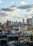 Vista de Havana, Cuba Fotografia de Stock