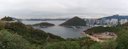 Vista de Hong Kong Ocean Park Imagem de Stock Royalty Free
