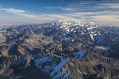 Vista de Huayna Potosi Fotografia de Stock Royalty Free
