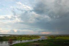 Vista de Iquitos imagens de stock