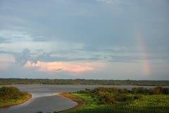 Vista de Iquitos imagem de stock royalty free