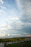 Vista de Iquitos fotografia de stock
