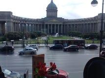 Vista de Isaacy del café de la casa de libros fotos de archivo libres de regalías