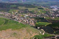 Vista de Israel Imagen de archivo libre de regalías