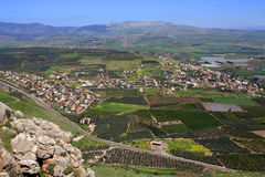 Vista de Israel Imagem de Stock Royalty Free