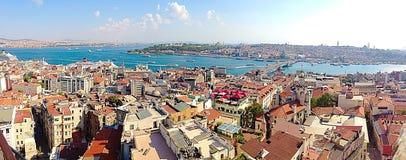 Vista de Istambul Foto de Stock Royalty Free