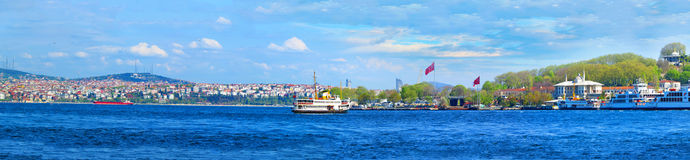 Vista de Istambul do imagem de stock royalty free