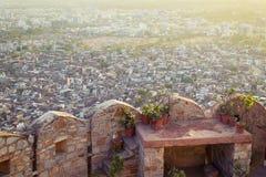 Vista de Jaipur fotografia de stock