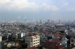 Vista de Jakarta Foto de archivo