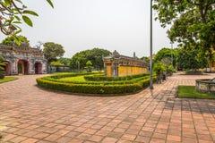 Vista de jardines en la ciudad imperial de la tonalidad Imagen de archivo libre de regalías