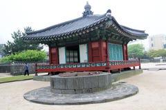 Vista de Jeju Mok Office en Corea del Sur Imagenes de archivo