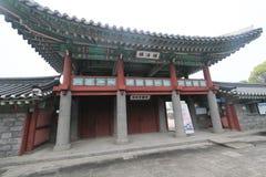 Vista de Jeju Mok Office en Corea del Sur Foto de archivo libre de regalías