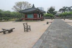 Vista de Jeju Mok Office en Corea del Sur Imágenes de archivo libres de regalías
