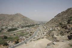 Vista de Kabul central Foto de Stock