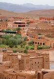 Vista de Kasbah AIT Benhaddou Imagens de Stock Royalty Free