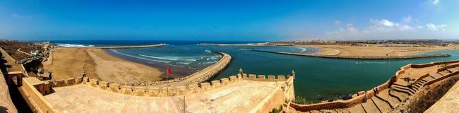 Vista de Kasbah em Rabat imagem de stock