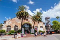 Vista de Key West do centro, Florida Imagens de Stock